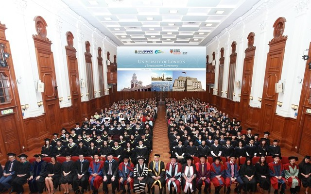 HKU SPACE Students Received First Class Honours and top mark in the world from the University of London