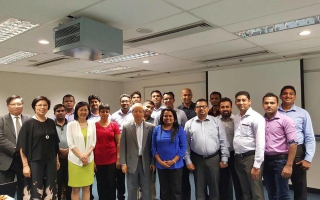 Sri Lankan MBA Students visit HKU SPACE to learn more about Hong Kong's Logistics