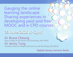 Gauging the online learning landscape: Sharing experiences in developing paid and free MOOC and e-CPD courses