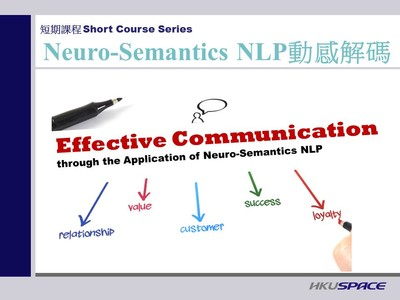 Psychology Short Course- Effective Communication through the Application of Neuro-Semantics NLP