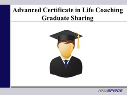 Graduate Sharing - Mr. Richie Tse