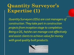Diploma in Surveying - QS(1)