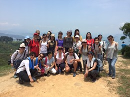 French Hiking at Lantau on 30 April 2017