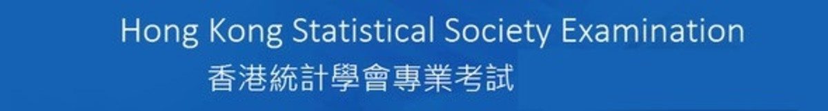 Hong Kong Statistical Society Examination